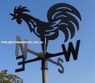 Farmyard Rooster 2 - Farmyard Rooster Weathervane