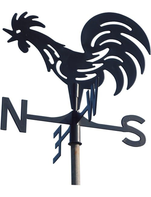 Farmyard X 1 Rooster 500x650 - Farmyard Rooster Weathervane