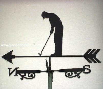 Golfer 4 - Golfer Weathervane