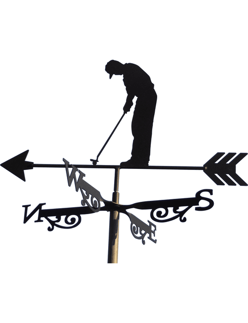 Golfer X R1 1 500x650 - The Golfer Weathervane