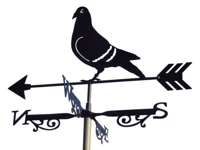 Pigeon XR1 700x525 - Pigeon Weathervane