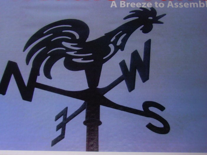 Spinning Happy Daisies Etc. 003 700x525 - Farmyard Rooster Weathervane