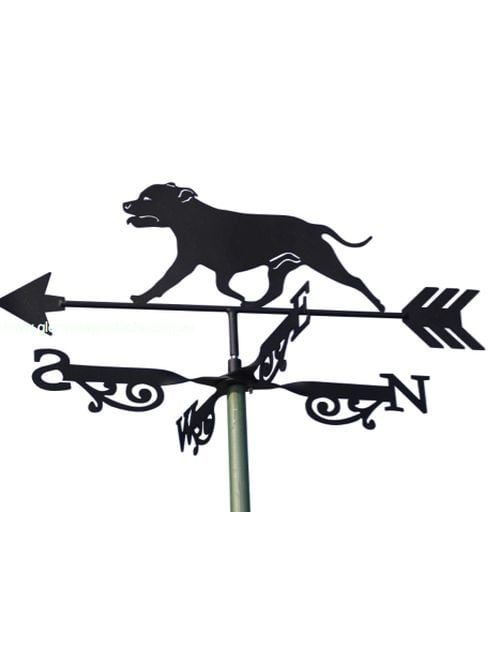 Staffy X 1 500x650 - Staffy Weathervane