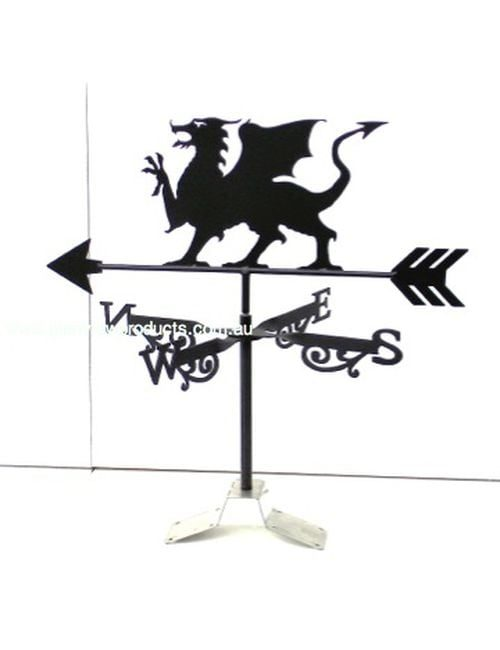 Welsh Griffin Black 4 1 500x650 - Griffin Weathervane