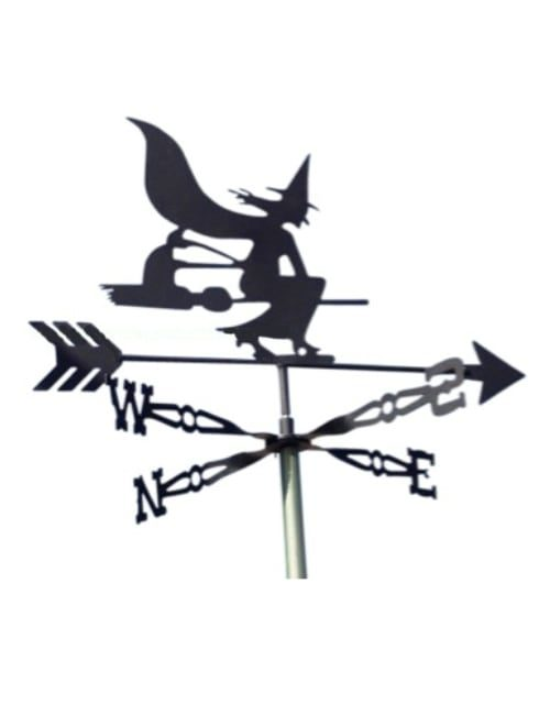 Witch Weathervane 500x650 - Witch Weathervane