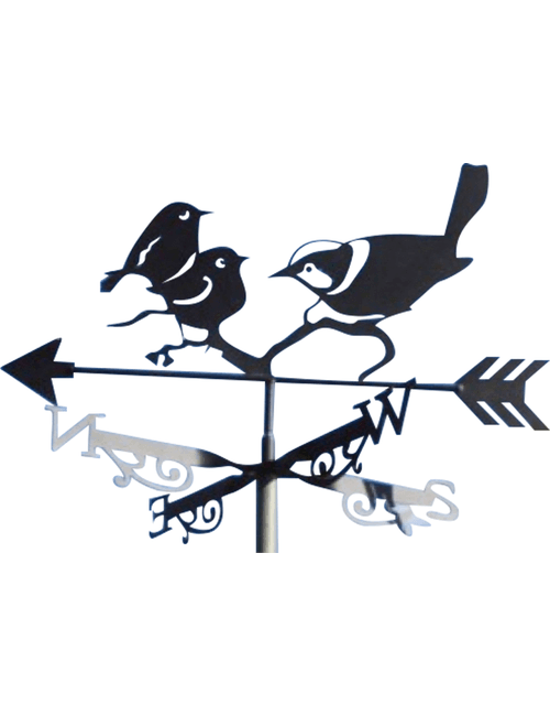 Wrens ZZ 1 500x650 - Fairy Wren Weathervane