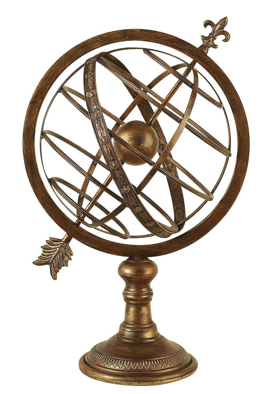 """Armillary Sundial - Armillary Sphere  25"""" High"""