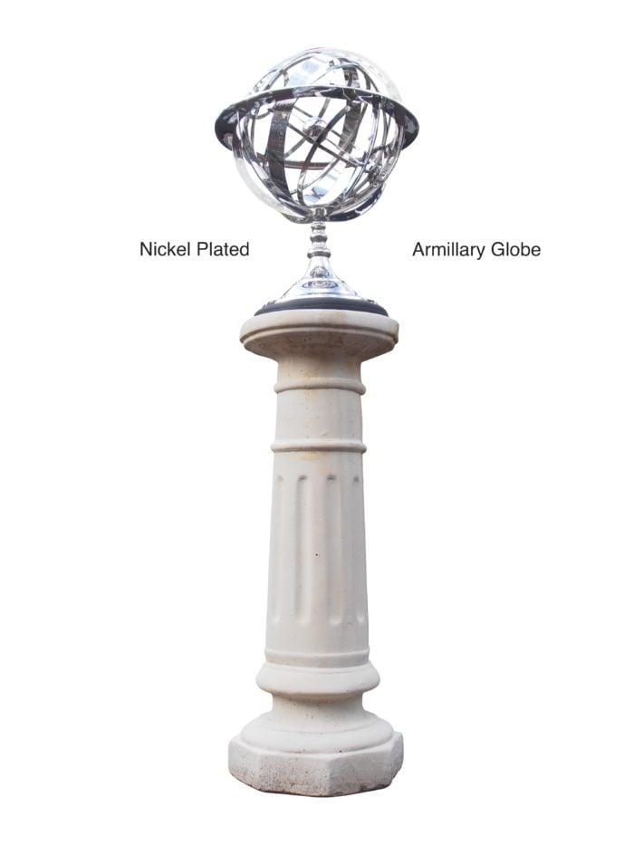 nNickel plated Armillary Globe