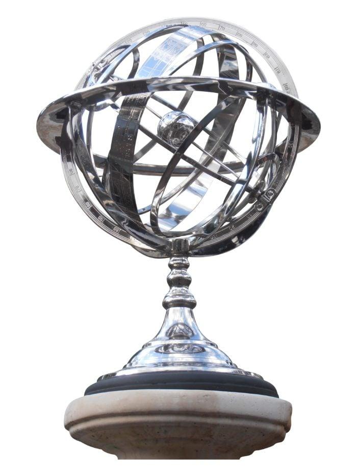 armillary globes 029 700x933 - Armillary Sphere Sun Dial