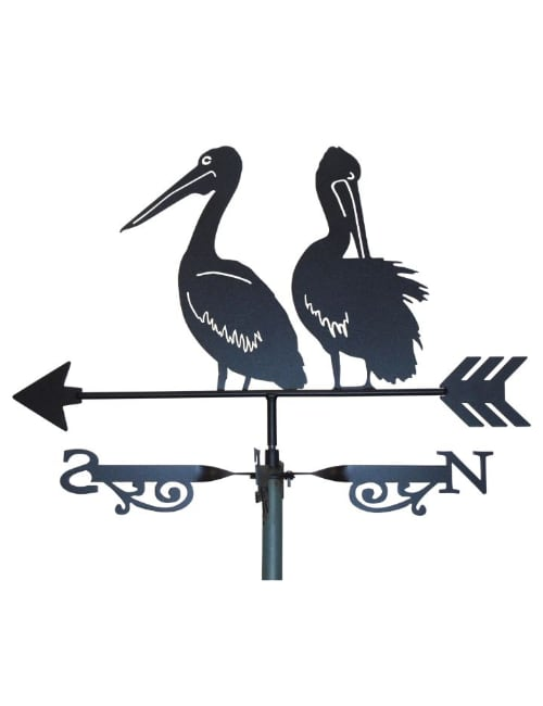 two pelicans 3x 1 - Pelicans Weathervane 2nd style