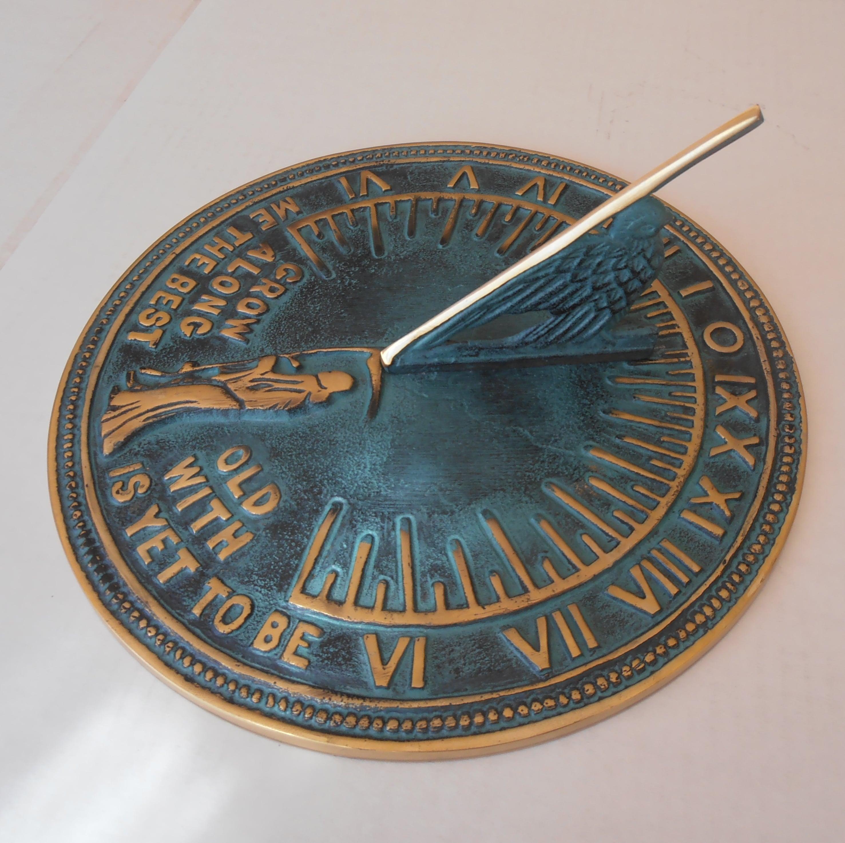Sun Dials21 - Large Brass Sun Dial