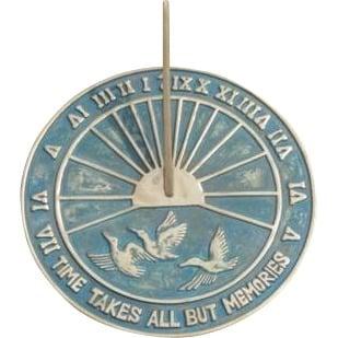 "Sundial Khalid6 - Armillary Sphere  25"" High"