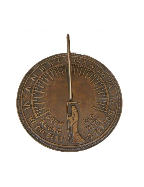 Sun dials8 2 - Large Brass Finish Sun Dial