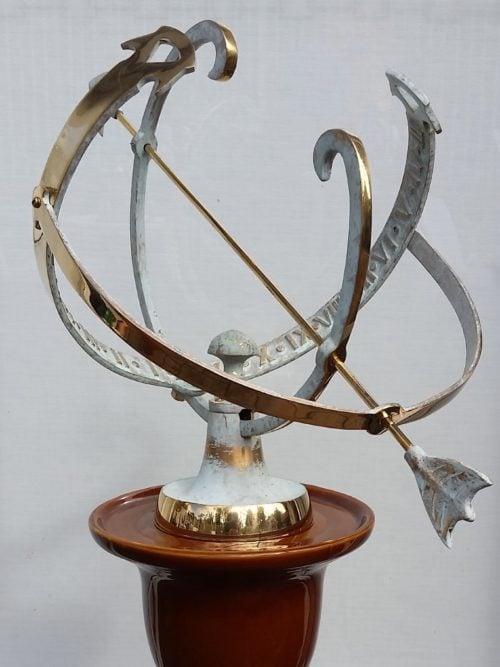 large Equatorial Sundial