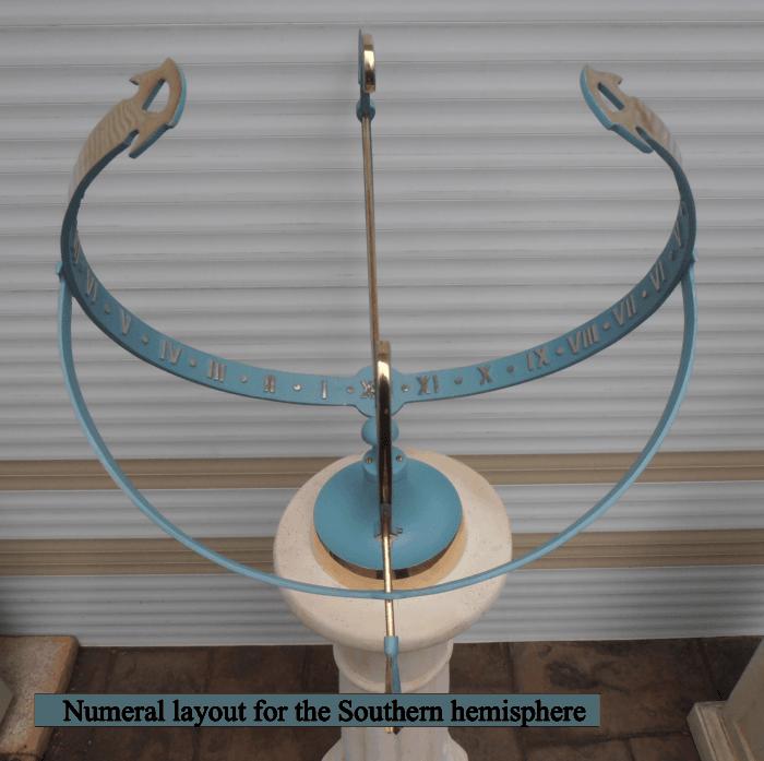 Austasia Finish 13.5 700x697 - Large Equatorial Sundial