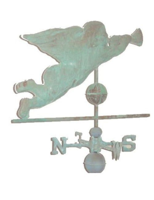 Antiqued Copper Weathervanes