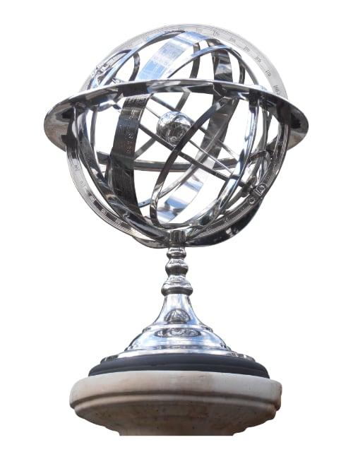 armillary globe - Armillary Globe Nickel Plated.