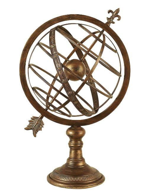 """armillary sphere 500x650 - Armillary Sphere  25"""" High"""