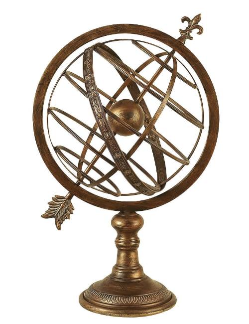 """armillary sphere - Armillary Sphere  25"""" High"""