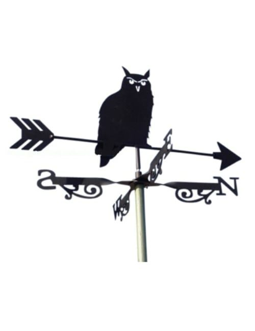 owl weathervane 500x650 - Owl Weathervane