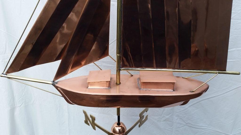 deck of sloop
