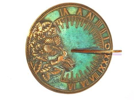 20191116 161529 - Humming Bird Antiqued Sundial