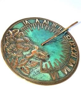 Humming Bird Antiqued Sundial