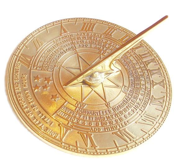 """""""Classic"""" Polished Sundial"""