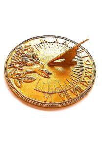 Humming Bird 7 225x300 - Humming Bird Polished Sundial